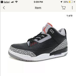 Air Jordan retro 3 Og black